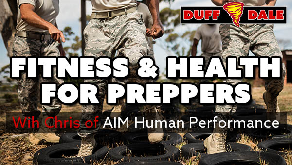 D&D026 Health & Fitness for Preppers