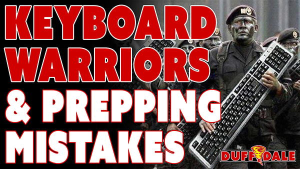 TSP043 Keyboard Warriors & Prepping Mistakes