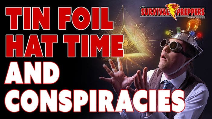 TSP049 Tin Foil Hat Time & Conspiracies With Lisa