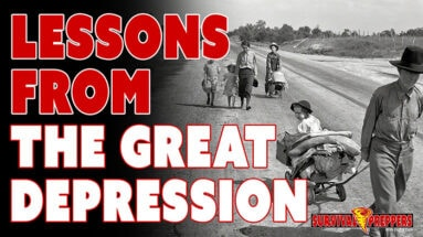 Prepping Supplies & The Great Depression